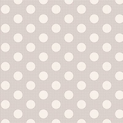 Tilda Medium Dots - Light Grey