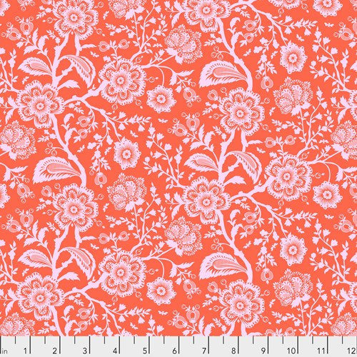 Pinkerville - Delight, Cotton Candy Pink - By Tula Pink for Free Spirit Fabrics