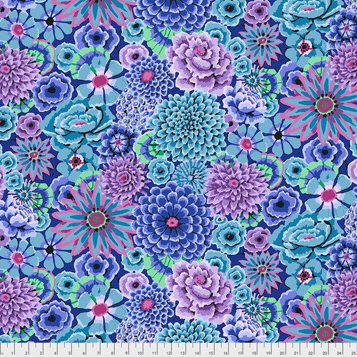 Free Spirit Fabrics Kaffe Fassett Collective Fall 2018 - Enchanted Blue
