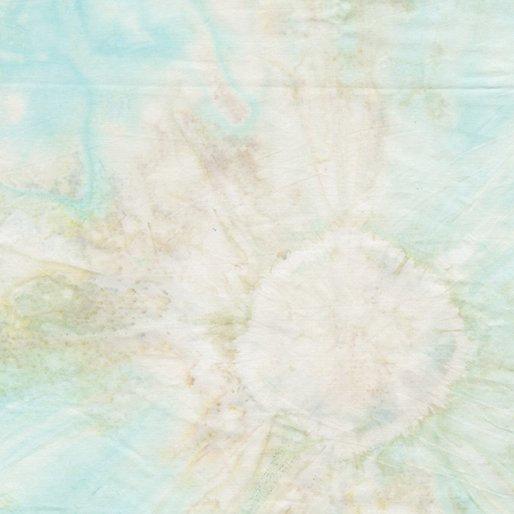 Benartex Lullaby Bali Batiks - Floral Aqua