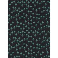 Cotton + Steel Front Yard - Clovers Teal Fabric