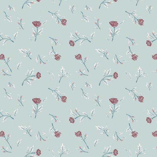 Art Gallery Fabrics Little Clementine - Miss Ditzy's Wintermint