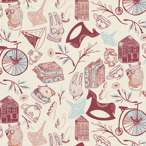 Little Clementine - Memory Keeping Breeze - By Art Gallery Fabrics