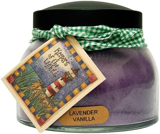 Lavender Vanilla Mama Jar Candle 22oz - By A Cheerful Giver
