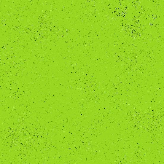 Spectrasitic, Neon Green, by Giucy Giuce for Andover Fabrics
