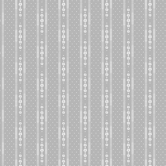Willow - Stripe, Gray - by Andover Fabrics