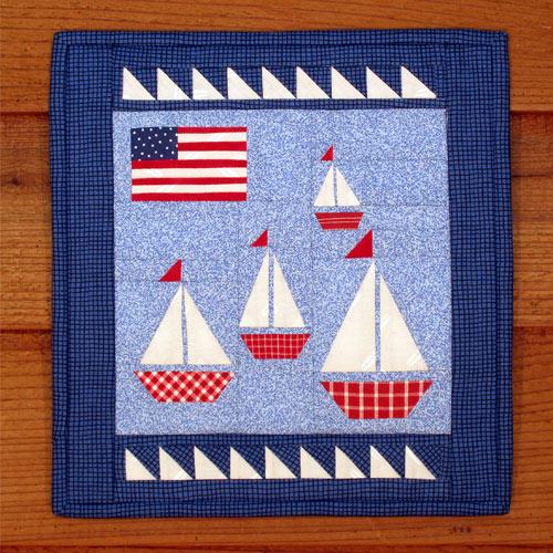 The Regatta Quilt Pattern