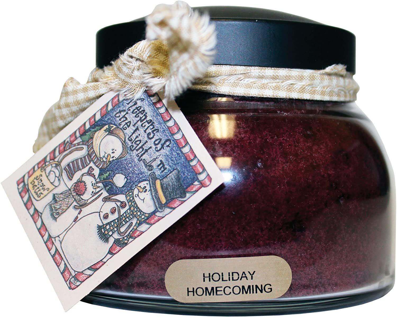 Holiday Homecoming Mama Jar Candle 22oz - By A Cheerful Giver