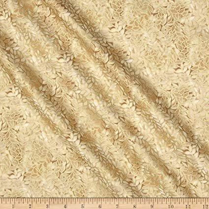 Blank Quilting Honeystone with Metallic - Straw