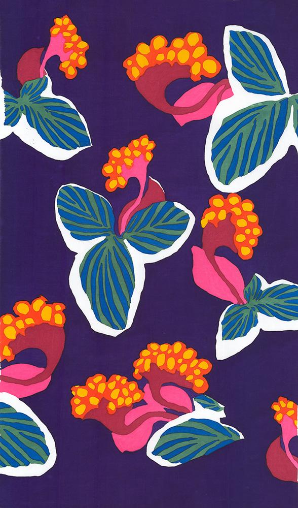 Folklorico - Flor Tropical - By Alexander Henry Fabrics
