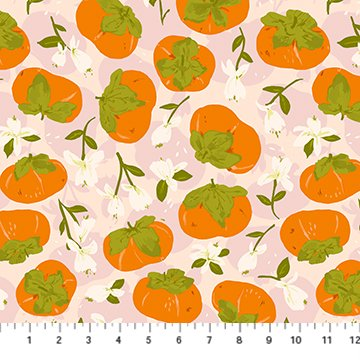 Summer's End - Persimmons - By Alison Janssen For Figo Fabrics