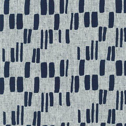 Quarry Trail - Indigo Tree Bark - By Anna Graham For Robert Kaufman Fabrics
