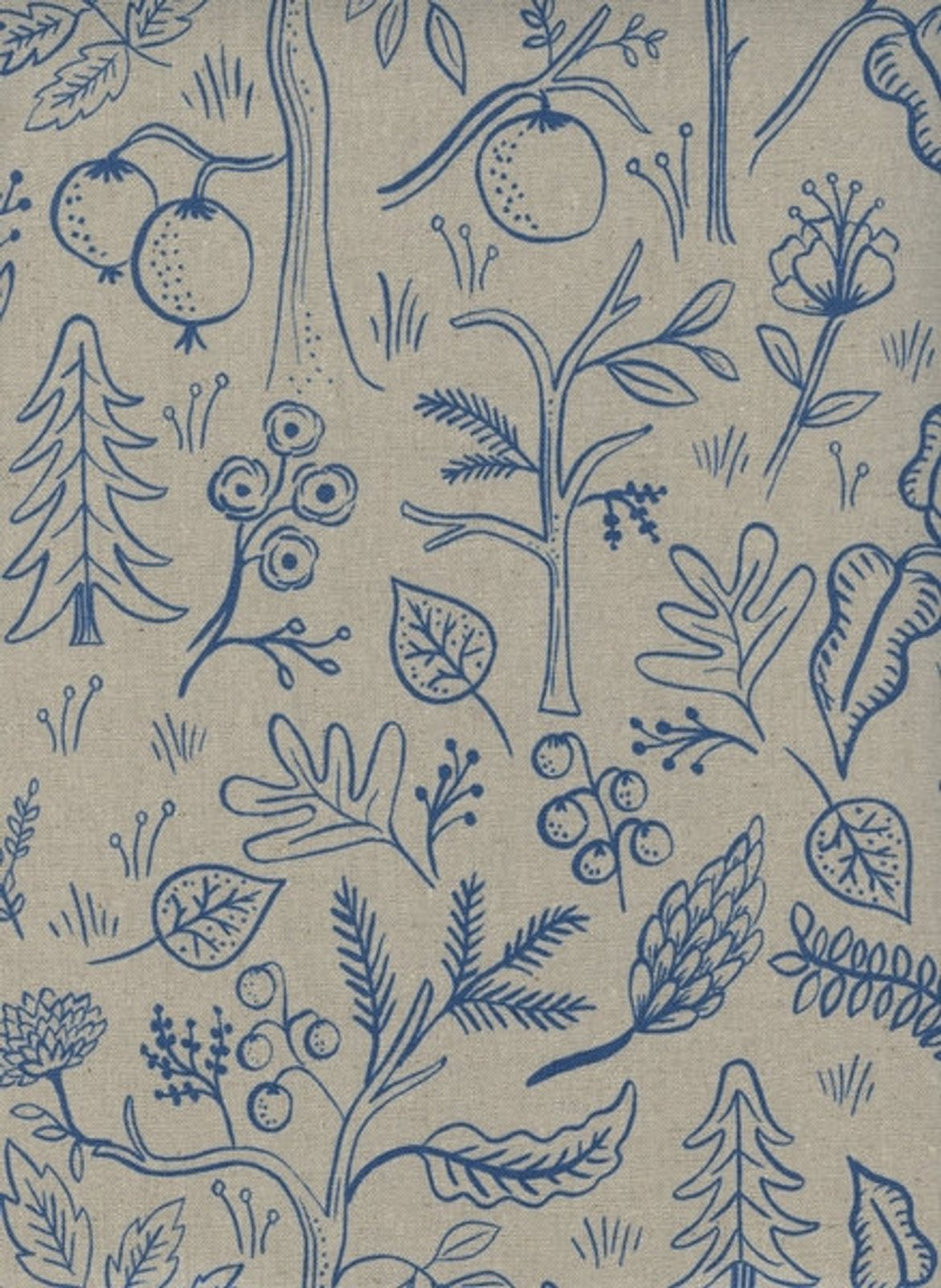 Cotton & Steel Canvas - Amalfi, Black Forrest