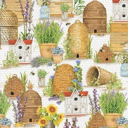 Everyday Favorites - Honey Home - by Mary  Lake - Thompson for Robert Kaufman Fabrics