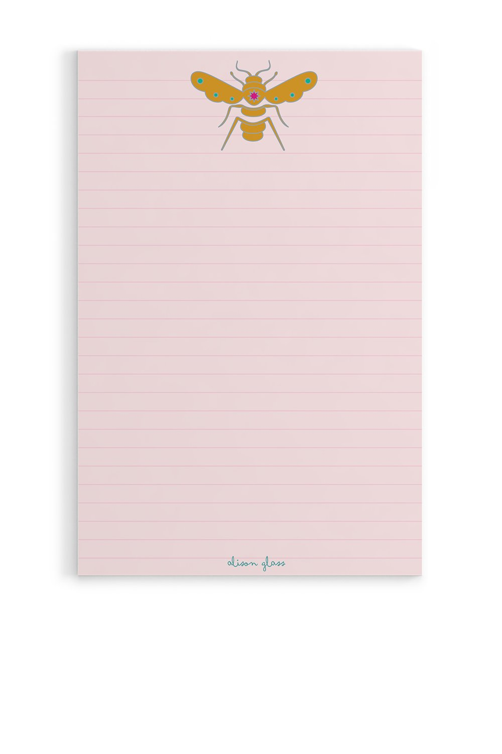 Alison Glass - Bee Notepad