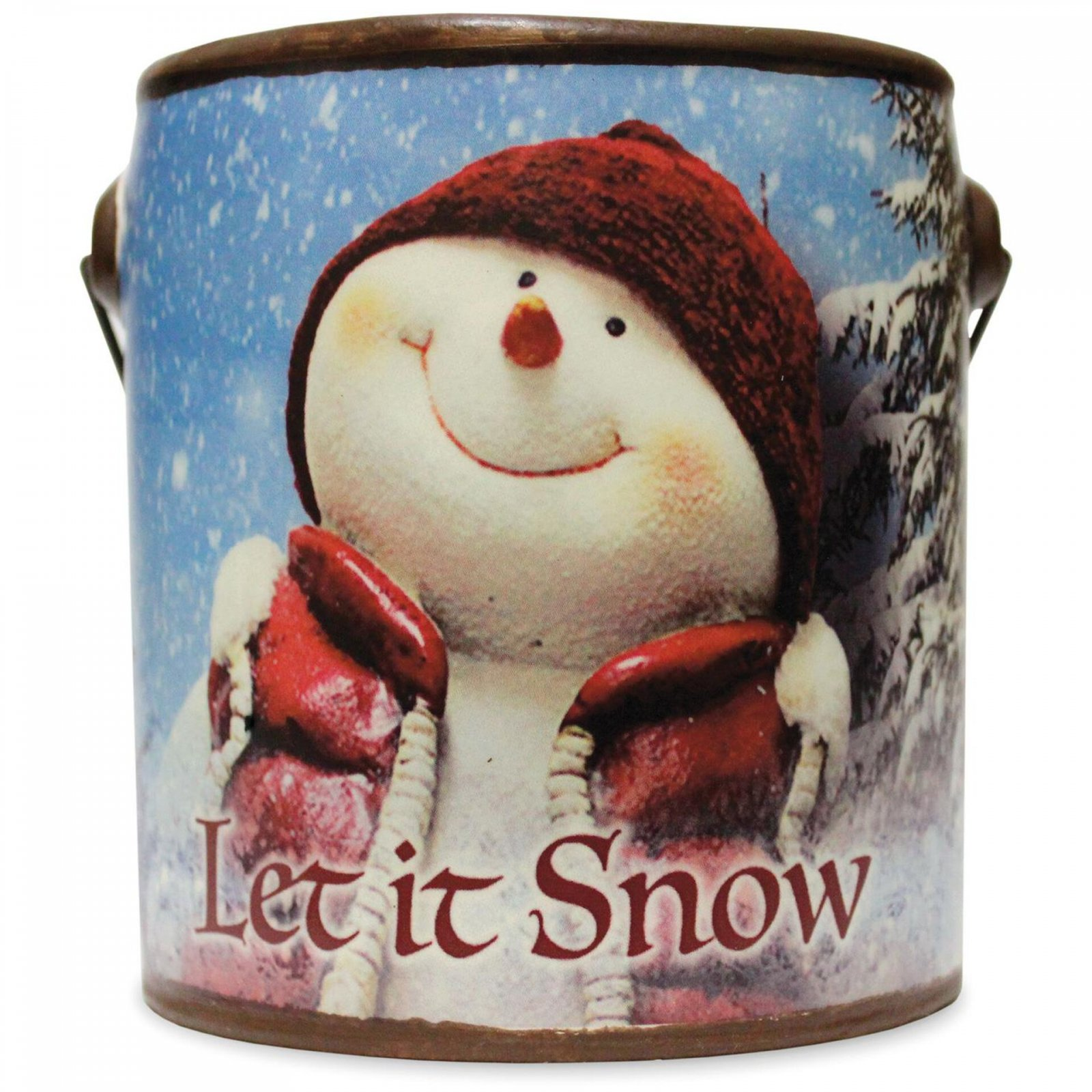 Let it Snow Farm Fresh Candle 20oz - Juicy Apple - By A Cheerful Giver