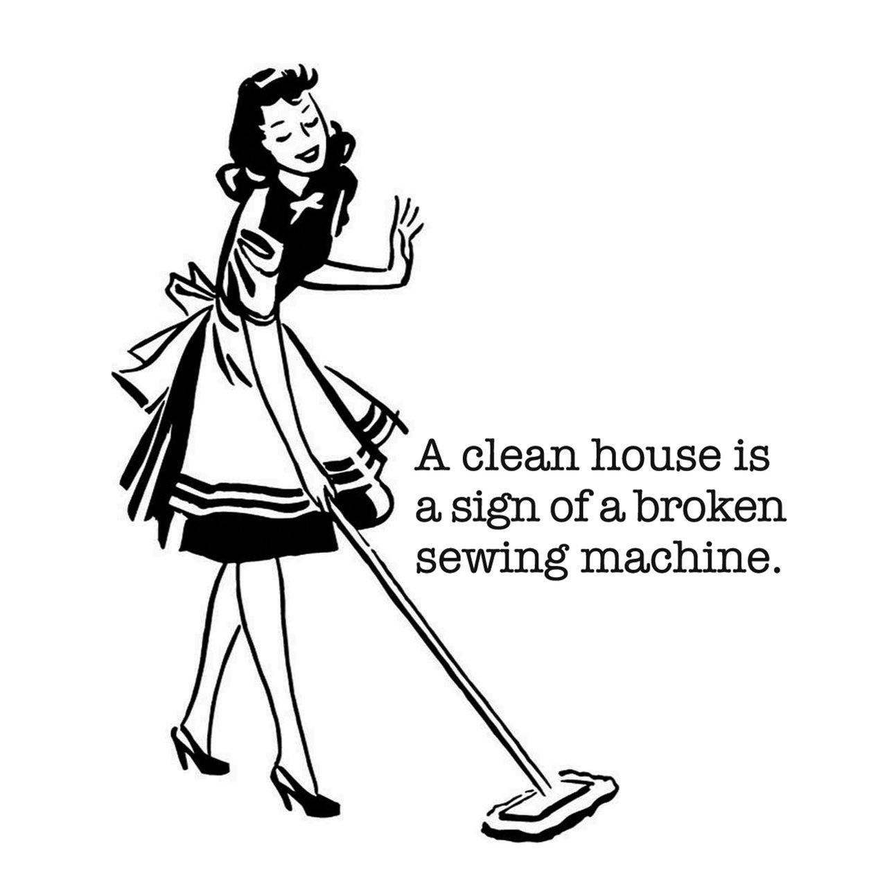 A Clean House... - Pack Of 1 Towel - By Colonial Prints