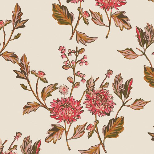 Kismet - Cut Flowers Fortune - By Sharon Holland For Art Gallery Fabrics