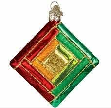 Quilt Square - Old World Christmas