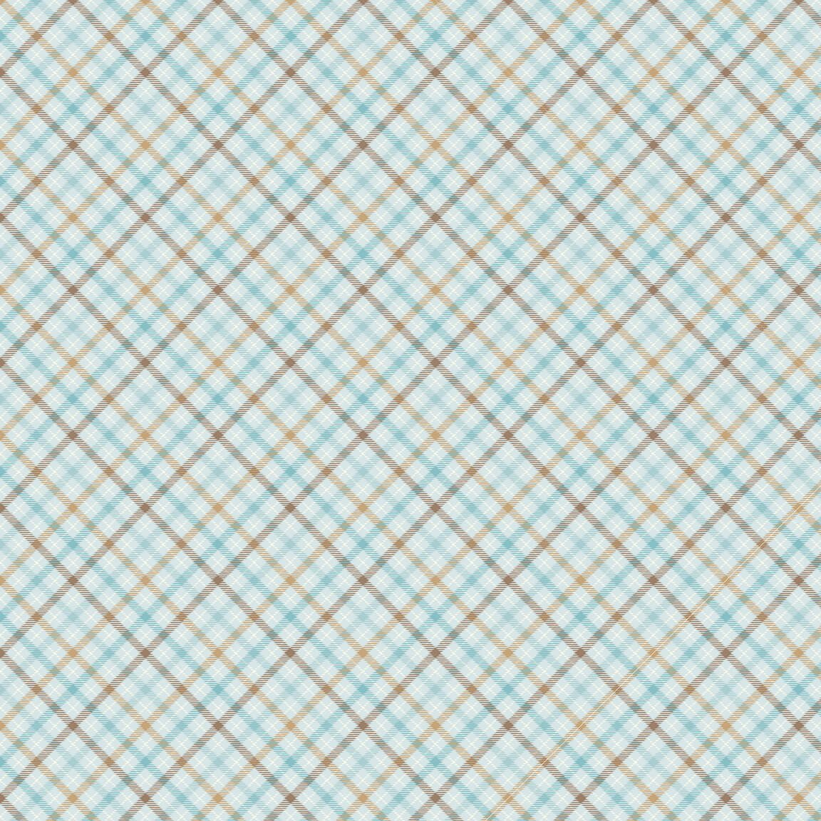 I Love Sn'Gnomies - Plaid*Flannel* - By Shelly Comiskey For Henry Glass Co.