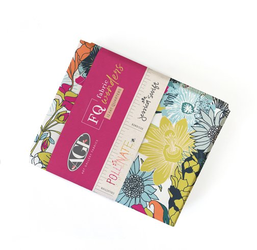 Pollenate - Fat Quarter Bundle 12pc/bundle - By Jessica Swift For Art Gallery Fabrics