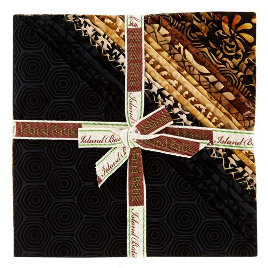 Island Batik - 10 Squares Stack 40 pieces - Geared Up Batiks