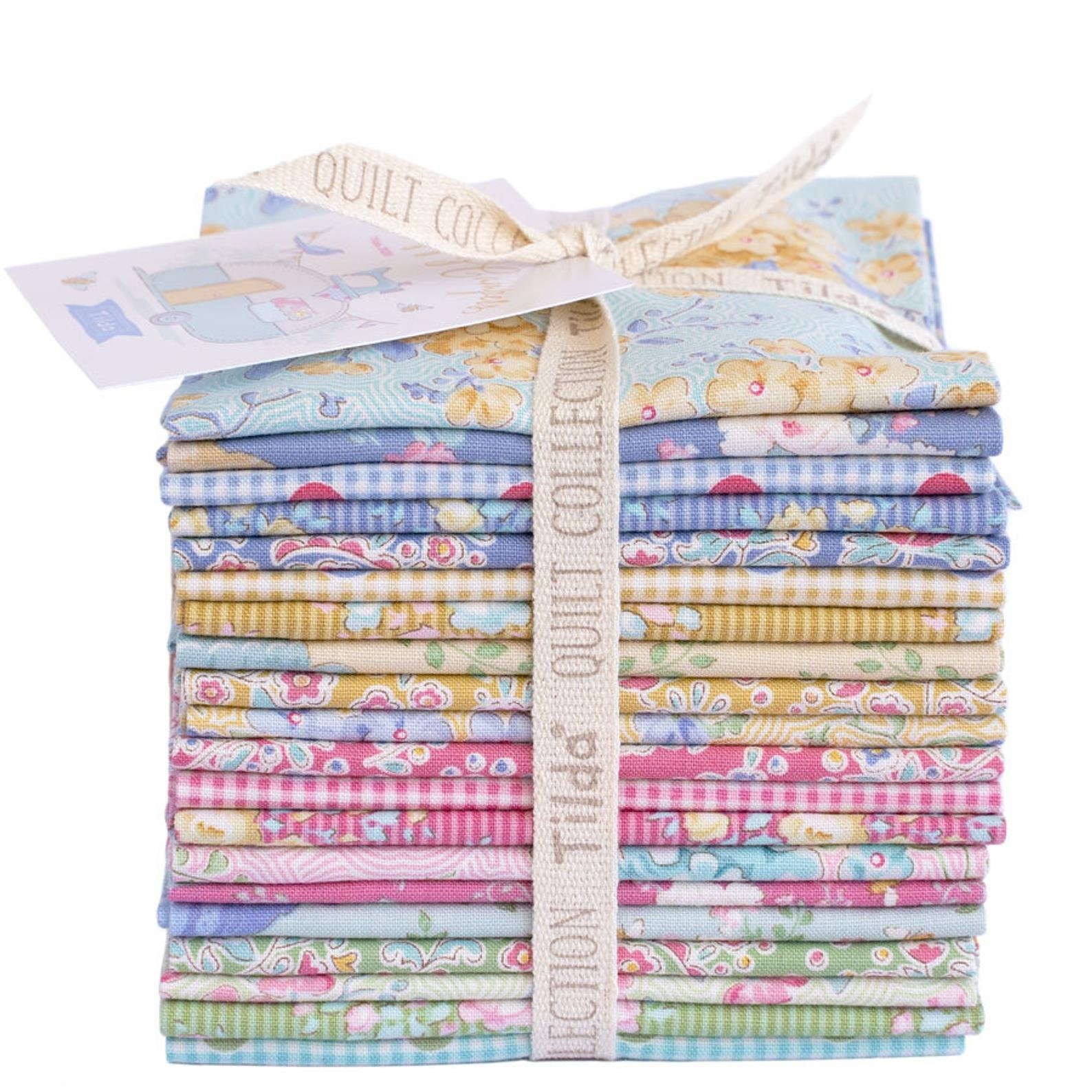Happy Campers - Half Yard Bundle - by Tilda  - Includes 20 Half  Yard Cuts representing the full collection - copy