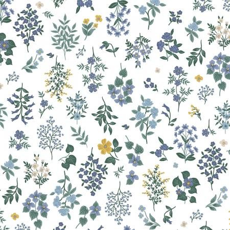 Strawberry Fields - Hawthorne Periwinkle - By Anna Bond For Rifle Paper Co.