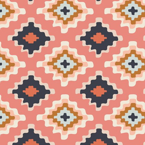 Homebody - Native Tapestry - By Maureen Cracknell For Art Gallery Fabrics