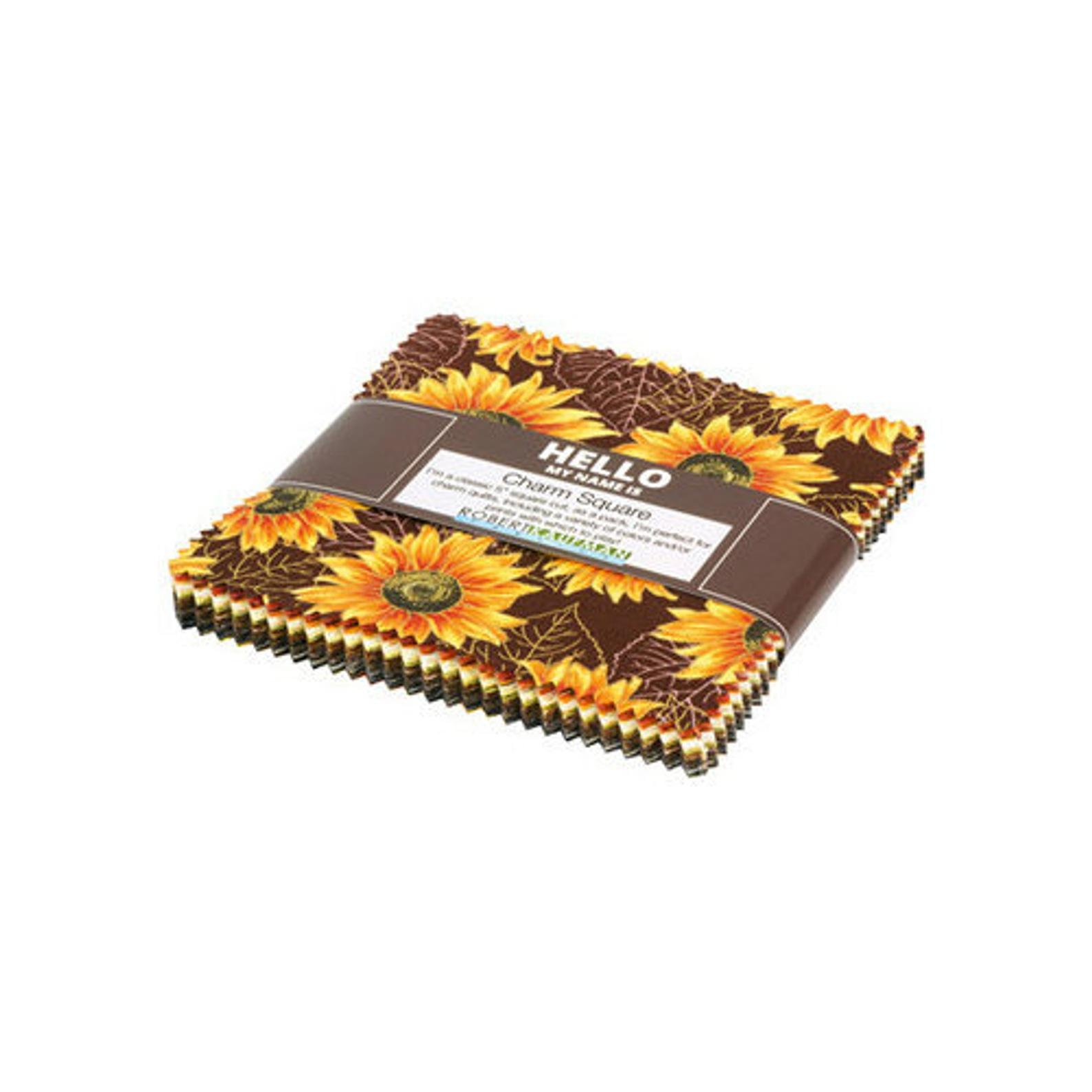 Autumn Beauties - Pre-Cut Charm Squares 5 - by RK Studio for Robert Kaufman Fabrics