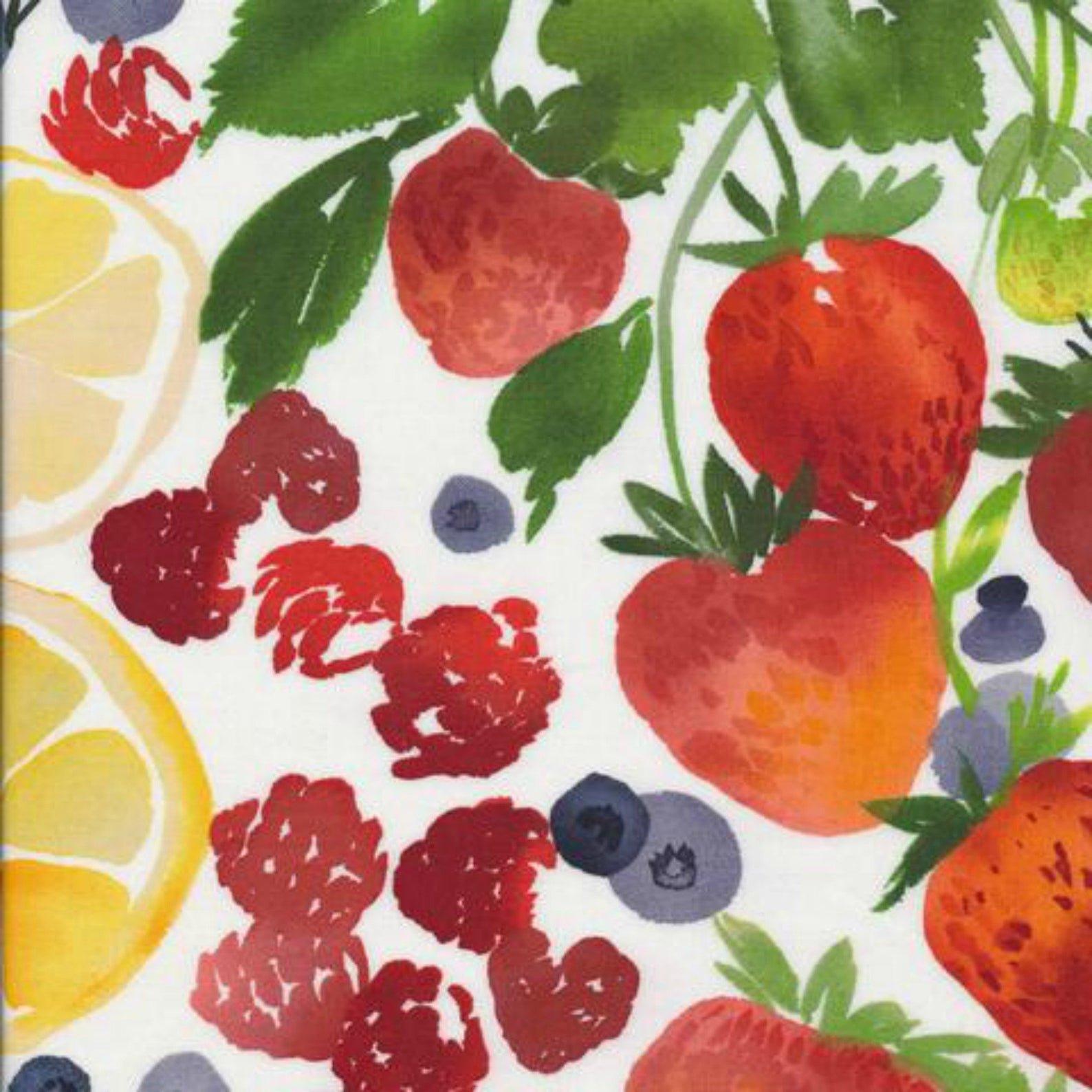 Berry Jam - Matte Laminate - Multi - By Yao Cheng For Cloud9 Fabrics