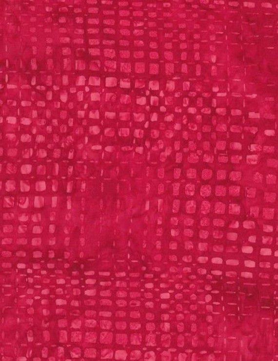 Tonga Batiks - Berry - by Timeless Treasures