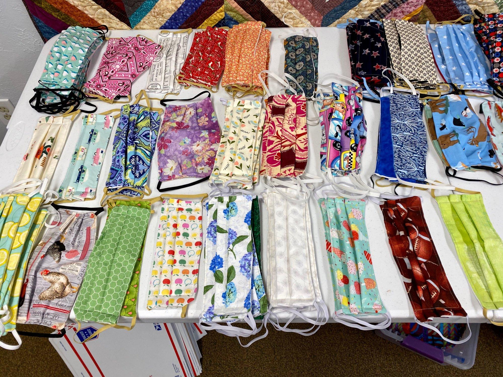 Designer Face Mask - Designer Fabric, Unisex - Made by Cotton Candy Fabrics