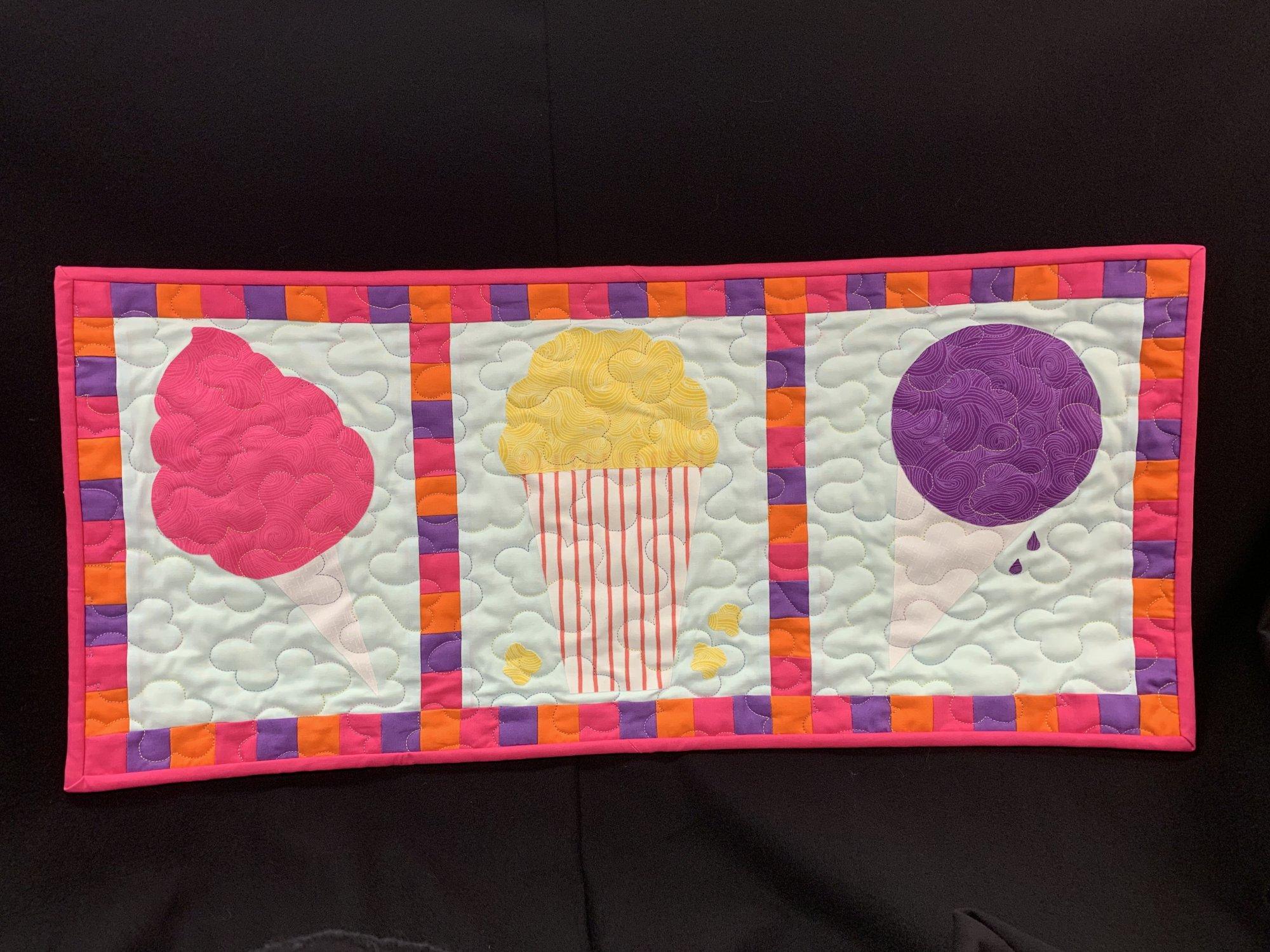 2019 Cotton Candy Fabrics Row by Row Kit - Carnival Themed