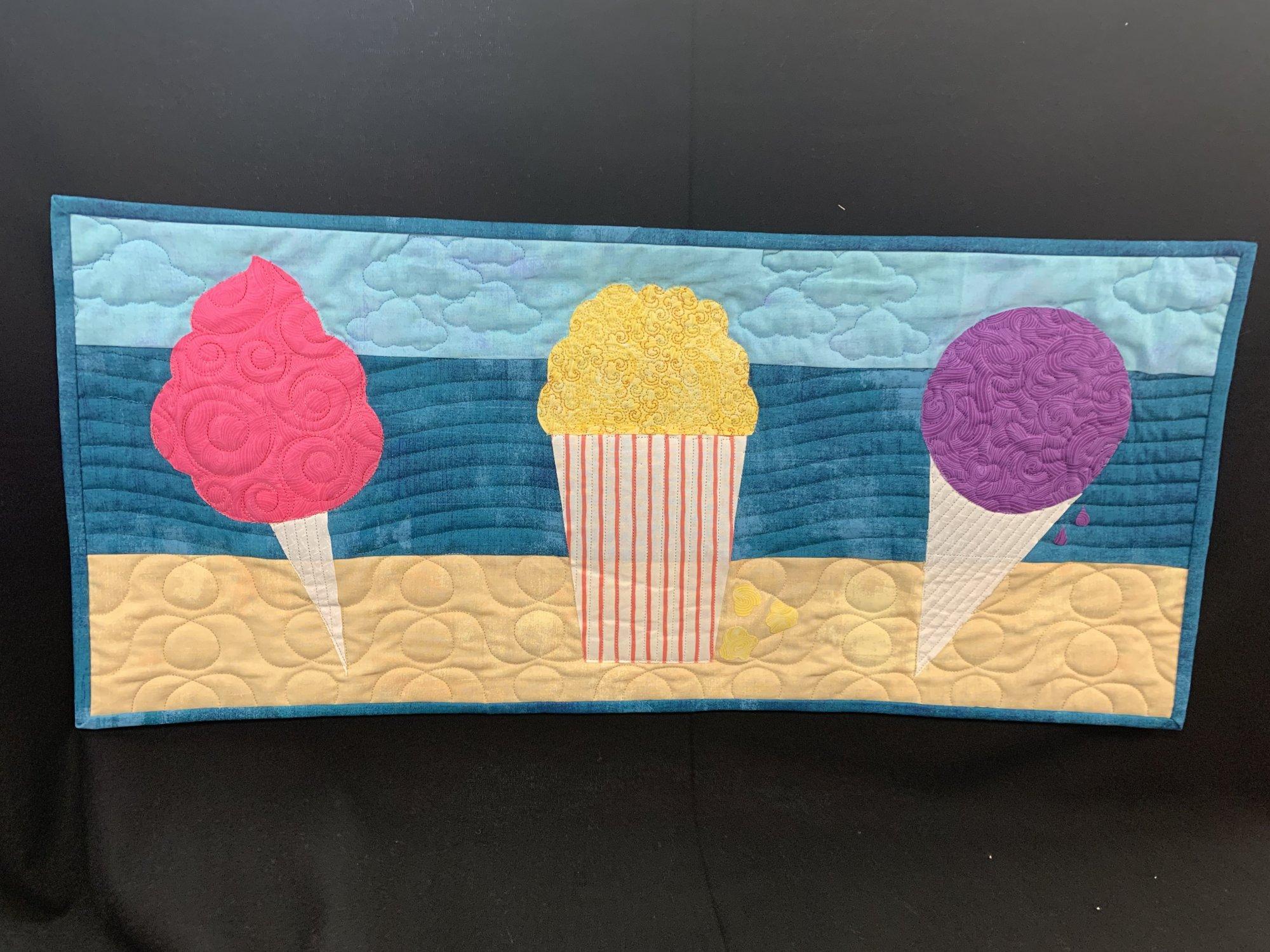 2019 Cotton Candy Fabrics Row by Row Kit - Beach Themed