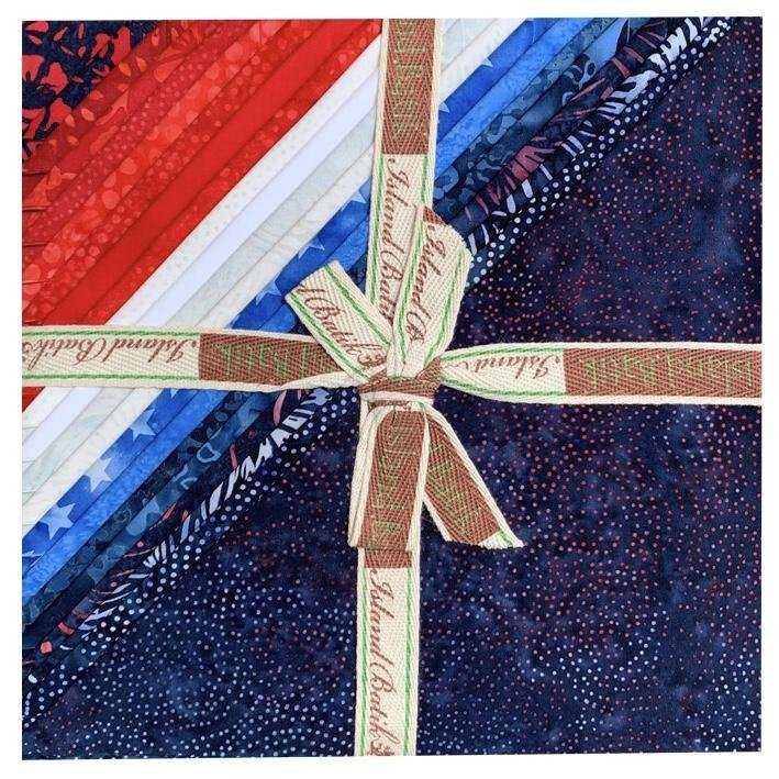 Island Batik 10 Square Island Stack - Freedom Batiks - Includes 42 10 Squares
