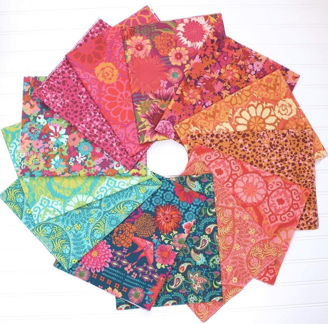 Kasada - Fat Quarter Bundle 13pc/bundle - By Crystal Manning For Moda Fabrics
