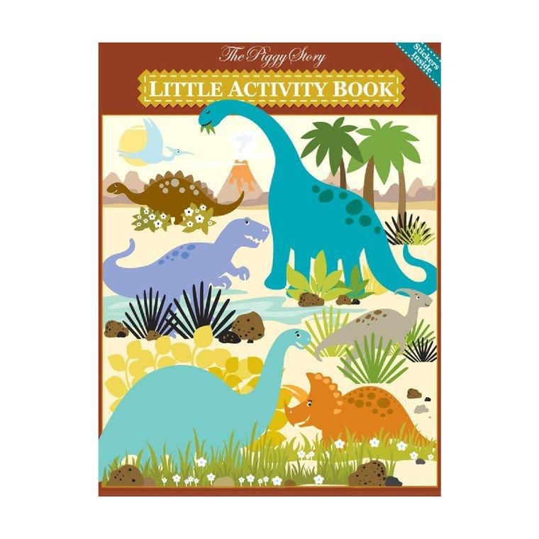 Little Activity Book - Dinosaur World - by The Piggy Store