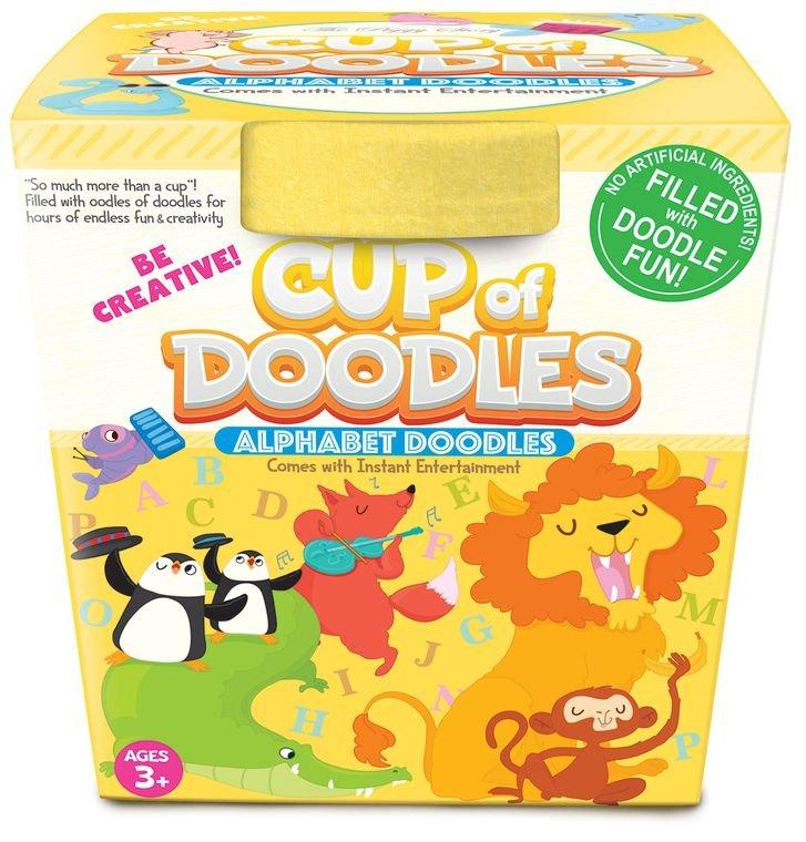 Cup of Doodles - Alphabet Doodles - by The Piggy Store