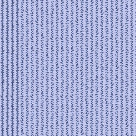 Strawberry Fields - Laurel Stripe Chambray - By Anna Bond For Rifle Paper Co.