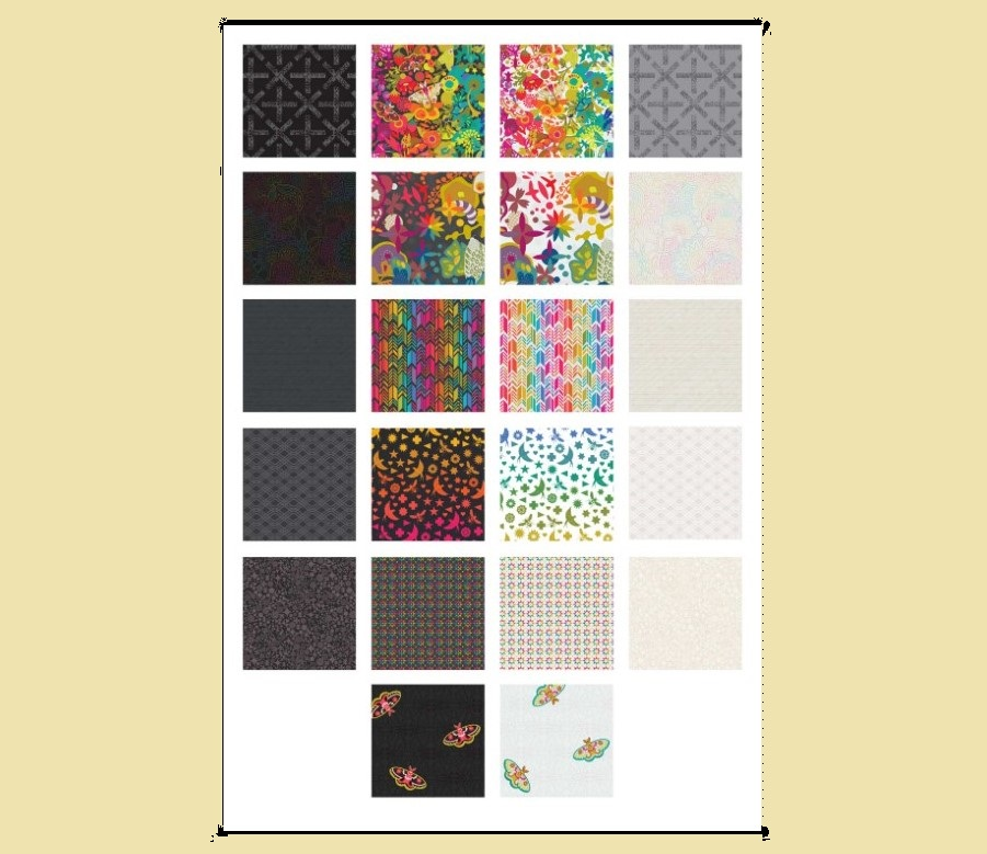Art Theory - Layer Cake 42pc/bundle - By Alison Glass For Andover Fabrics