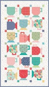 Vintage Happy 2- Good Morning Mugs Quilt Kit - by Lori Holt for Riley Blake