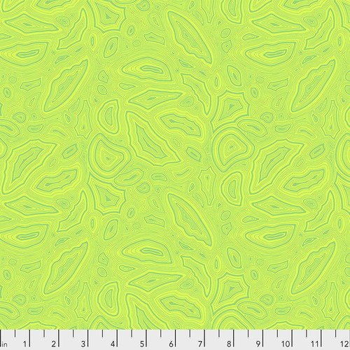 True Colors - Mineral, Peridot - by Tula Pink from Free Spirit Fabrics