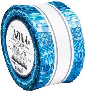 Azula - Roll Up 40pc/bundle - By Artisan Batiks For Robert Kaufman