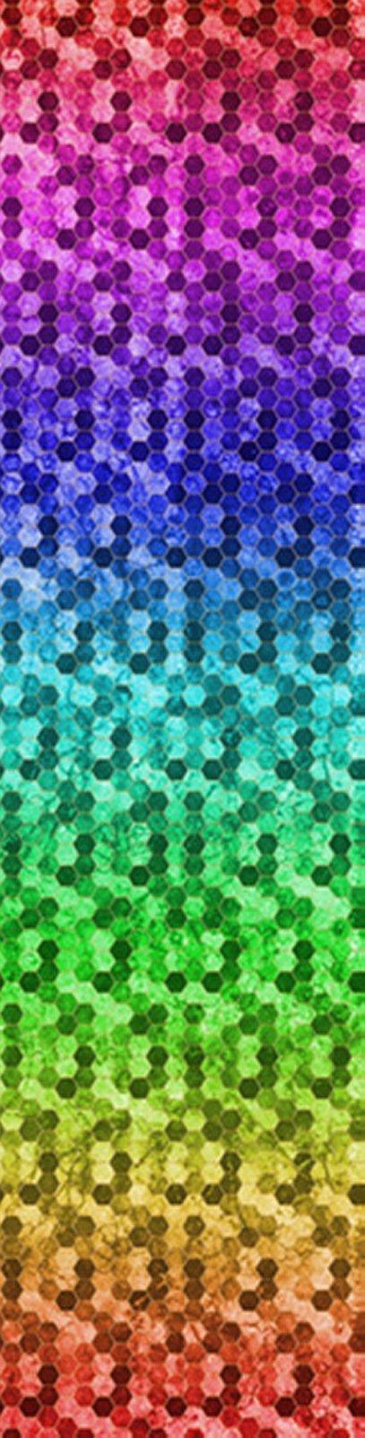Backsplash - Rainbow - By Hoffman Fabrics