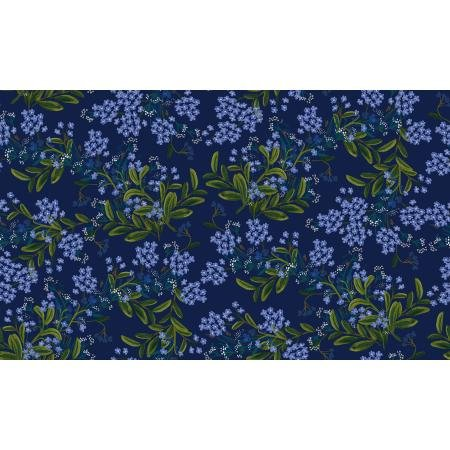 Meadow - Cornflower, Navy - by Rifle Paper Co for Cotton + Steel