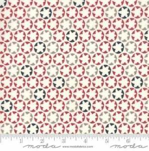 The Print Shop - Red White Blue Stars - by Sweetwater for Moda