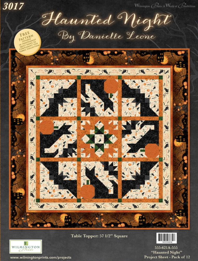 Haunted Night - 57.5 Table Topper Quilt Kit - by Danielle Leone for Wilmington Prints