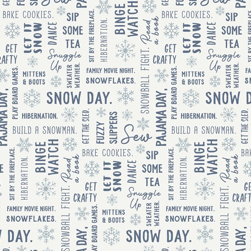 Snow Day - Snowbound - By Mister Domestic For Art Gallery Fabrics