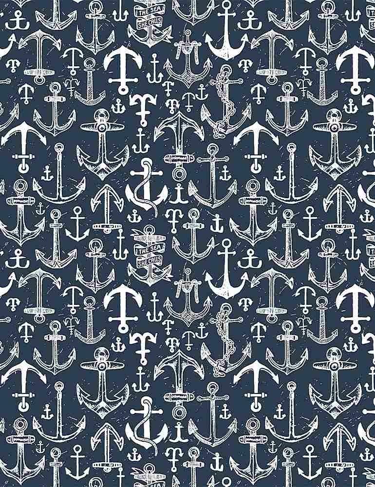 Bootylicious - Anchors Away - By Dear Stella Fabrics